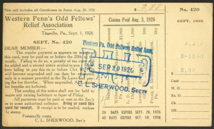 Image result for odd fellows relief association