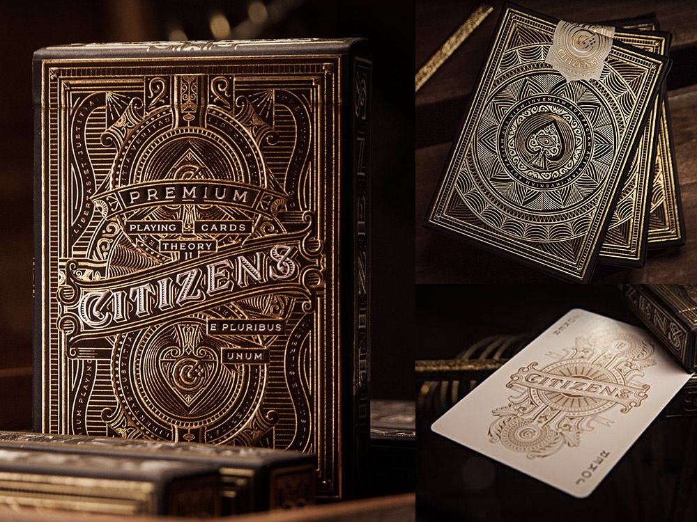 Citizens deck of cards