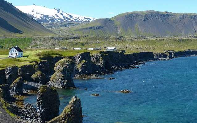 Islanda costa atlantica