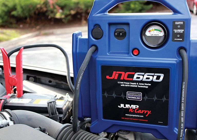 Jump starter about page
