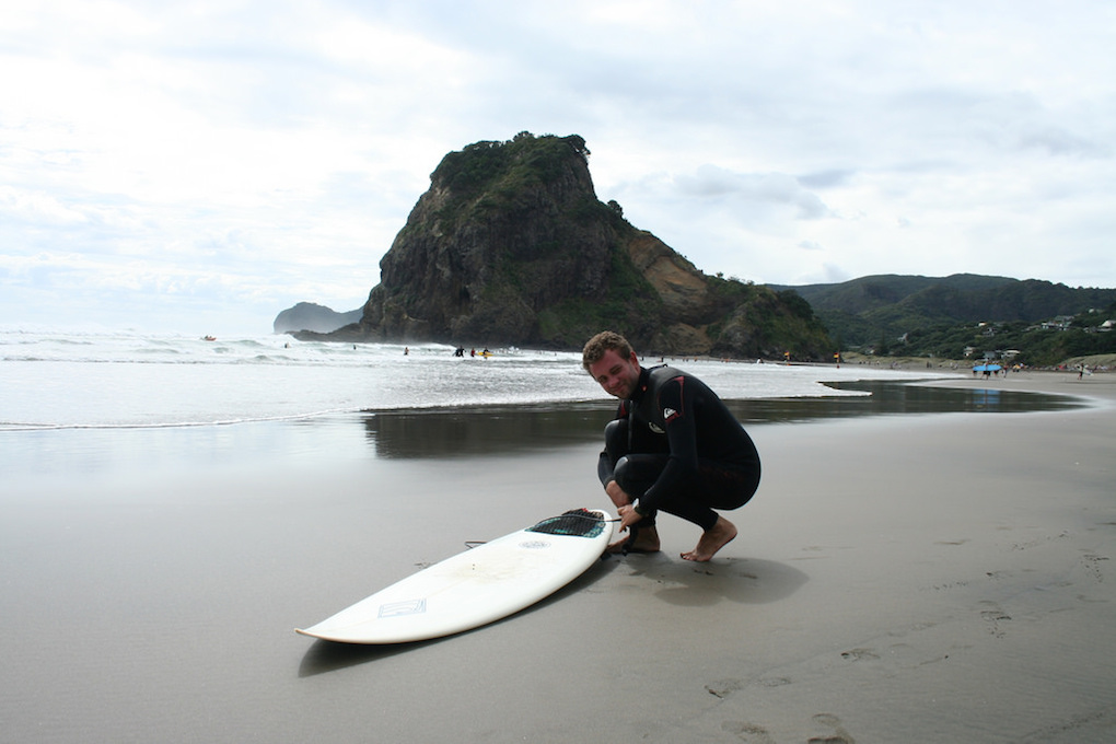Surfing Adventures in New Zealand