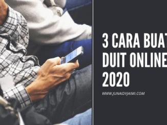 cara buat duit online 2020