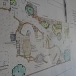 Eine der Planungsskizzen einer Anlage