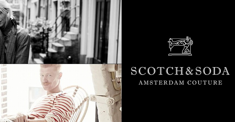 【SCOTCH&SODA  DAMAGE DENIM】