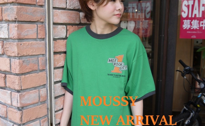 【MOUSSY HOT ROCK CITY TSJ】