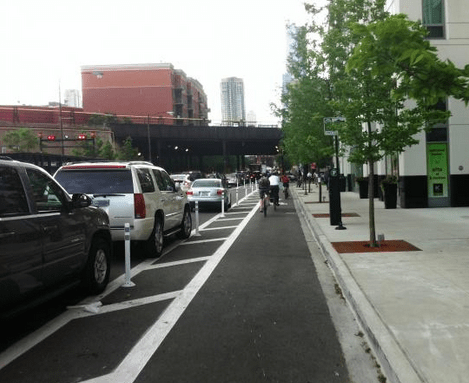 Protected bike lanes are designed with all kinds of people in mind.