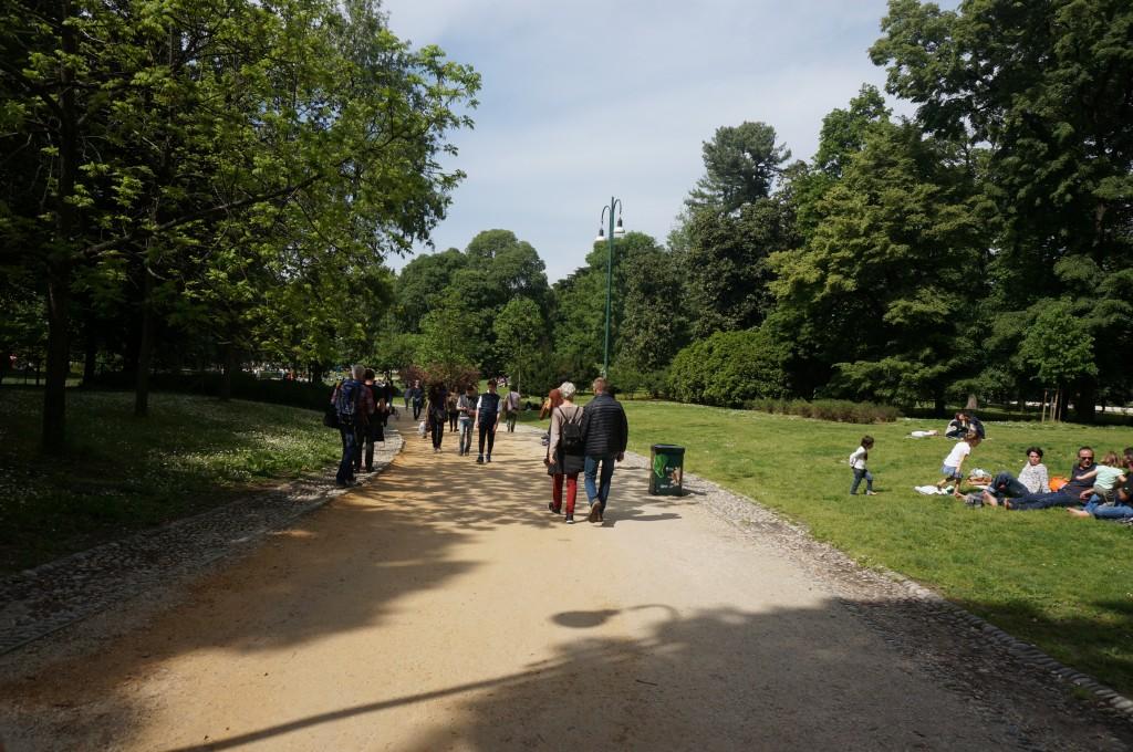 begin park