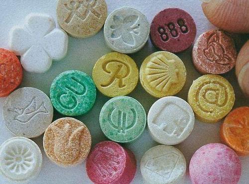 xtc pillen verzameling