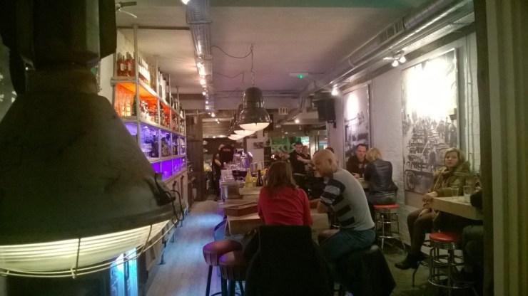 binnenkant rox cafe