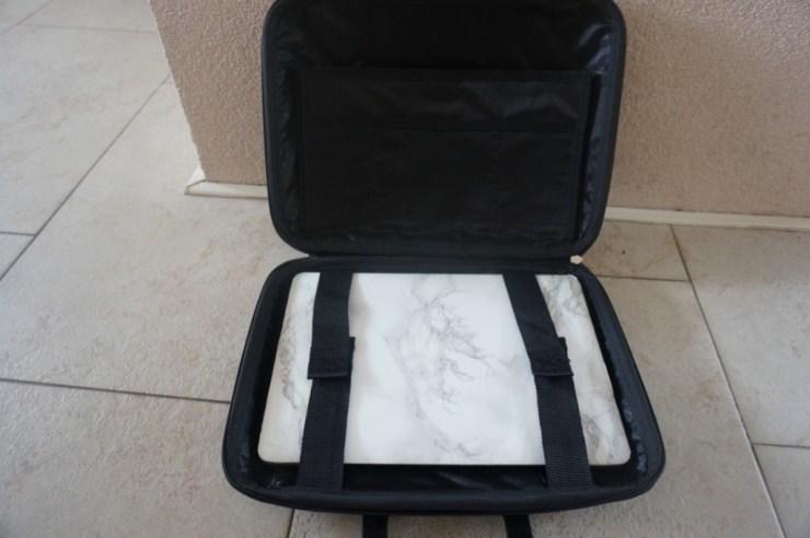 binnenkant laptop tas