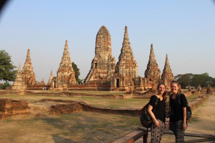 nadja en lex, ayutthaya