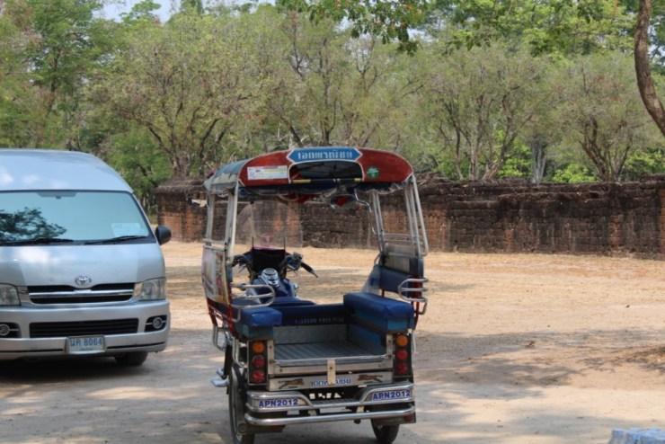 tuktuk en bus