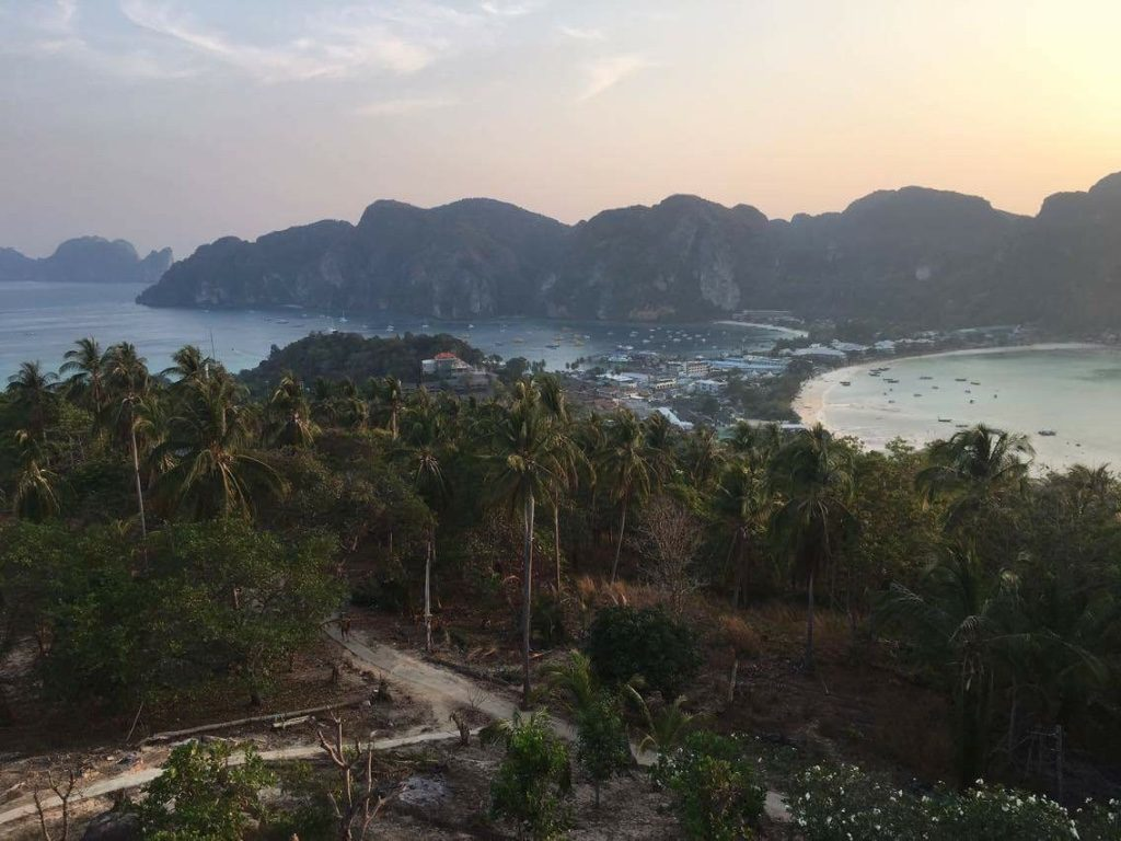 Koh Phi Phi view point love