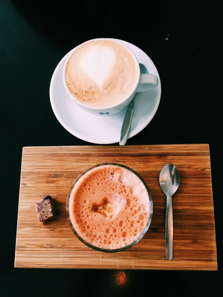 cappuccino en thai latte