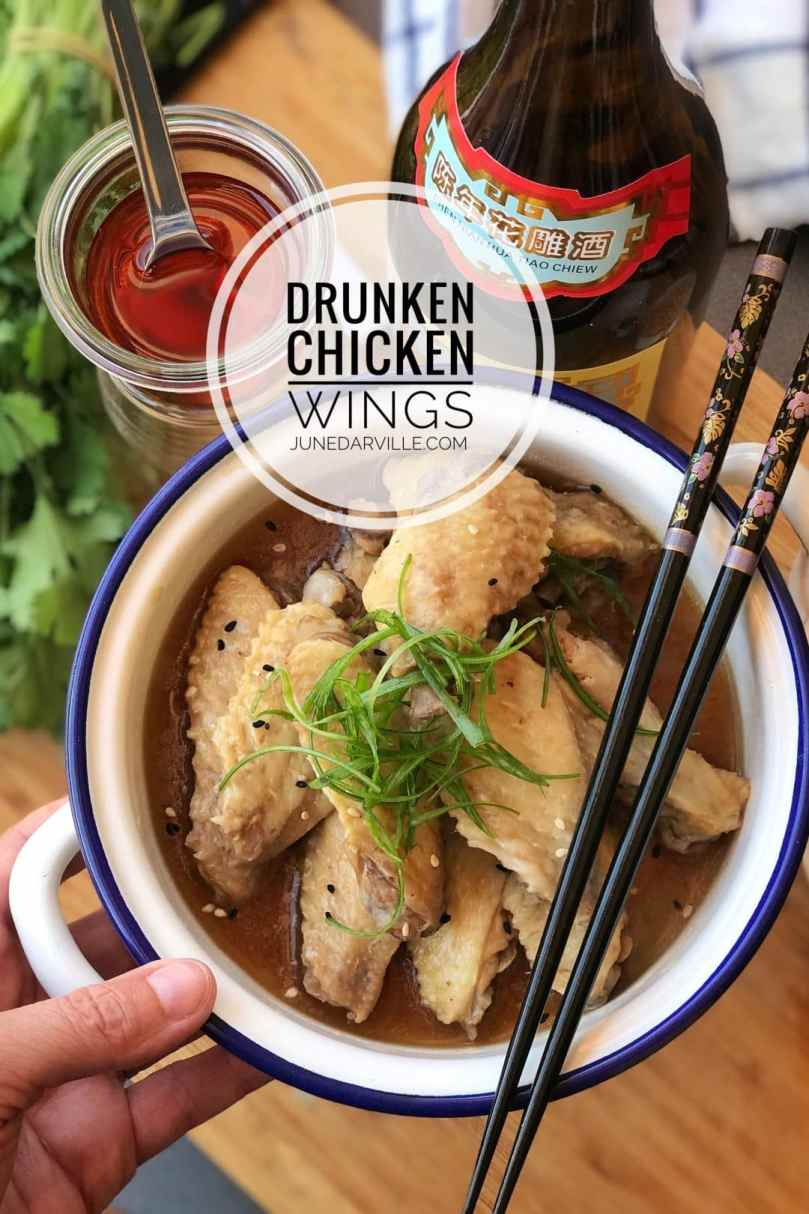 Are you looking for some easy Chinese recipes? Then here is a fantastic drunken chicken wings recipe you are going to love to bits...