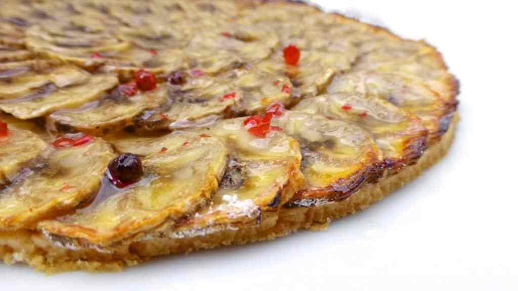 My quick banana tart recipe: an easy fruit tart recipe, ready in just 1 hour!