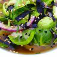Easy Brussels Sprout Soup with Miso
