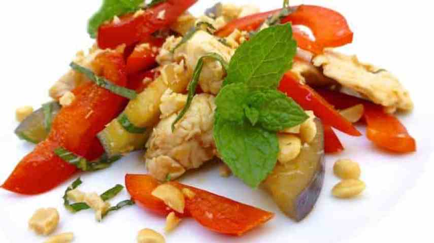Right well look here at this Thai chicken stir fry then. See how easy it really is to cook an Asian flavored dish! No funny ingredients involved.