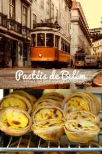 You can't possibly think 'Lisbon' without thinking 'pasteis de Belem'. It's absolutely not done to visit Lisbon without ever tasting one.