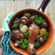Easy French Coq au Vin Chicken Stew