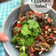 Rahib Salad (Roasted Eggplant Salad)