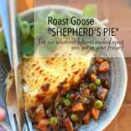 Shepherds Pie with Leftover Roast Meat