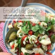 Easy Salt Cod Salad (Ensalada de Bacalao)