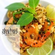 Easy Thai Basil Shrimp Recipe