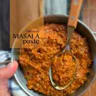Masala Paste (Homemade Recipe)