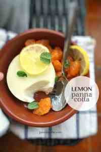 My easy lemon panna cotta, best panna cotta recipe ever: creamy, smooth, flavorful, light, refreshing, melts in your mouth…