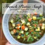 Easy Pistou Soup (French Pesto & Veg Soup)