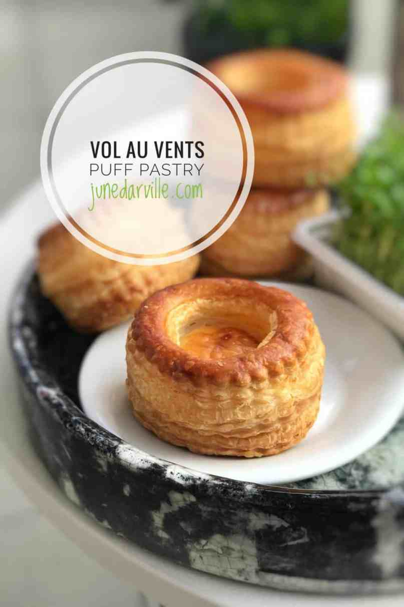 How to make vol au vents puff pastry cups: a step-by-step picture guide! Have you ever wondered how to make vol au vents?