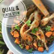 Easy Lentil Stew with Quail Recipe