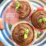 Best Chestnut Buckwheat Cupcakes