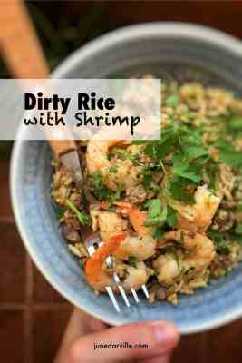 Easy Dirty Rice with Shrimp Recipe