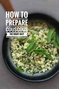 Have you heard of this method before? I will show you how to cook couscous: perfect fluffy couscous in 10 minutes! You'll be surprised how easy it is...