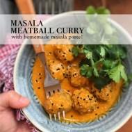 Masala Meatball Curry Recipe