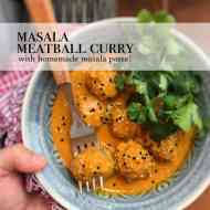 Easy Masala Meatball Curry Recipe