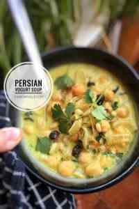Try my cold Persian yogurt soup with caramelized onions, raisins, garam masala and chickpeas! It's refreshing and satisfying. Flavor explosion!