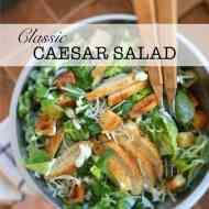 How To Make Caesar Salad Easily