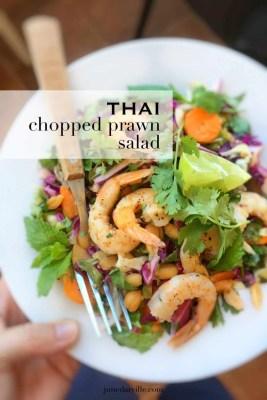 Thai Chopped Prawn Salad Recipe