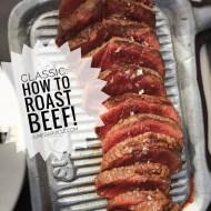 Roast Beef Recipes (How To Roast Beef)