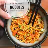 Best Kimchi Fried Noodles Recipe