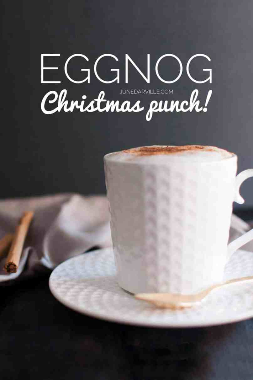 I can't believe how simple this easy homemade eggnog from scratch turns out to be... Definitely on my recipe list next week for Christmas!