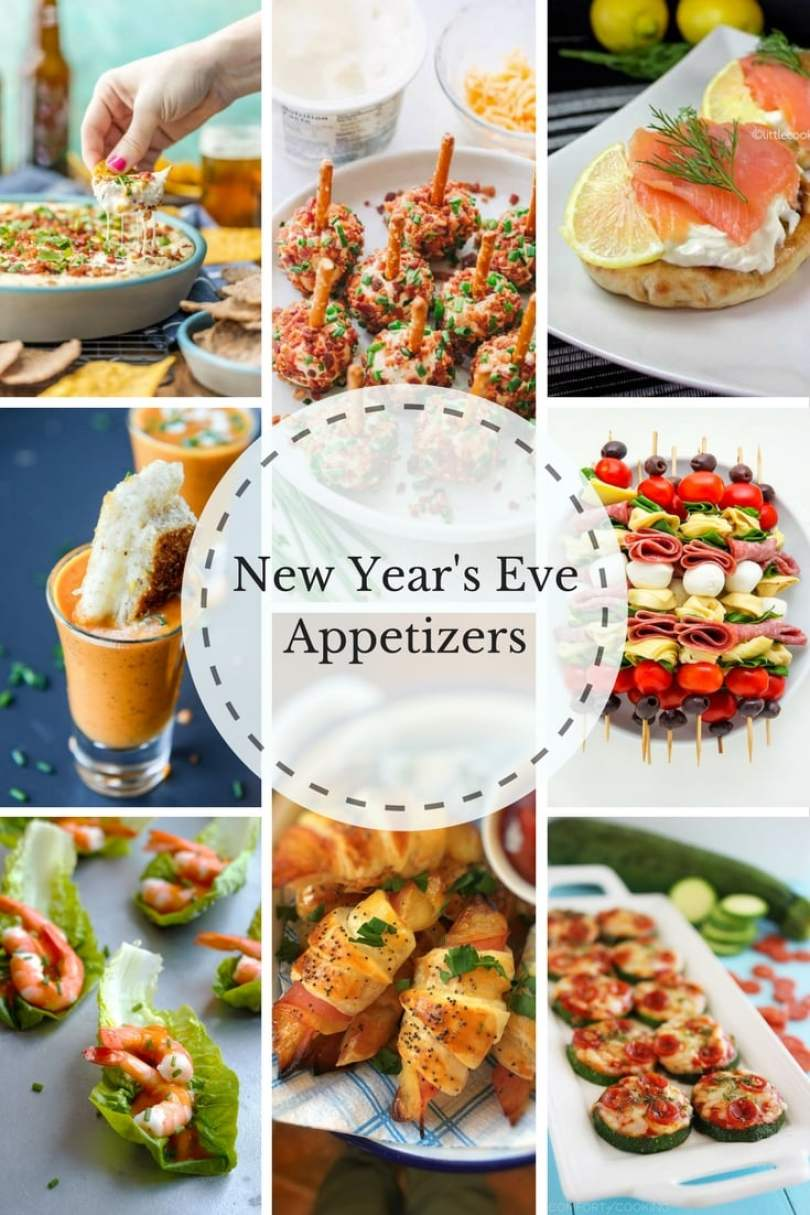 New Year's eve is closing in fast again... Gosh, time really goes so fast! Time to start prepping my New years eve appetizers!