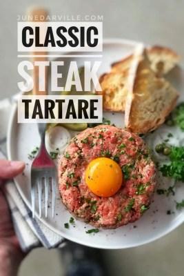 Best Classic Belgian Steak Tartare