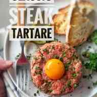 Steak Tartare (A Timeless Belgian Classic)