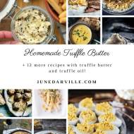 Truffle Butter Recipe with Black Truffle