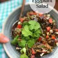 Best Rahib Salad (Roasted Eggplant Salad)