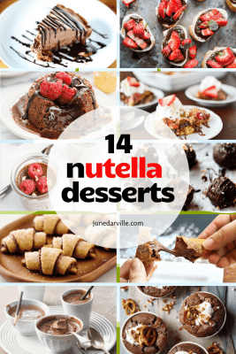 14 Easy Nutella Recipes & Treats